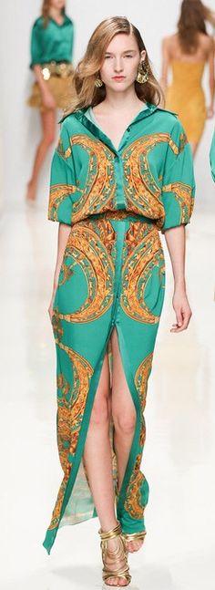 #valentine Yudashkin^#2014#spring#classy #colourful #style #fashion #fashinable #elegance #стиль #мода#runway
