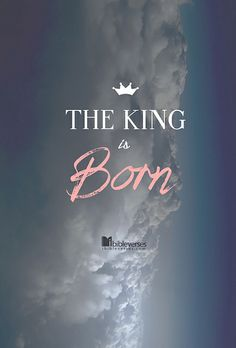 The King is born....