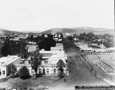 Church Street South Pretoria - HF Gros 1880s?