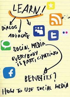 college social media accounts handout - Google Search