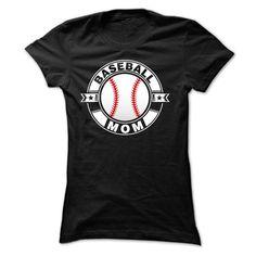Baseball MOM T-Shirts, Hoodies. ADD TO CART ==► https://www.sunfrog.com/Funny/Baseball-MOM-43272478-Ladies.html?id=41382