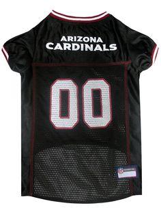 Pets First Co. Arizona Cardinals Pet Jersey, Black