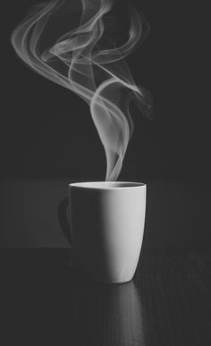 Just Cofee Art Print by Happy Home Artistry - X-Small Black And White Coffee, Black And White Photo Wall, White Coffee Mugs, Coffee Love, Black And White Pictures, Black And White Photography, Coffee Cups, Hot Coffee, Coffee Break