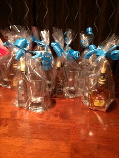 Man shower goodie bags!!