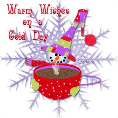 Warm wishes on a cold day winter snow christmas christmas quote winter quote winter greeting snow quote