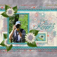 Bohemian Style Collection by Over the Fence Designs - Fun and exciting and full of spirit, our Bohemian Style collection is just right for digital scrapbooking photos from all seasons.