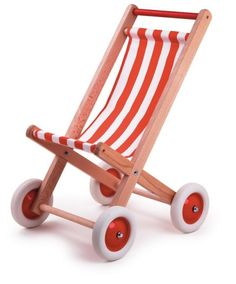 Egmont Wooden Doll Stroller