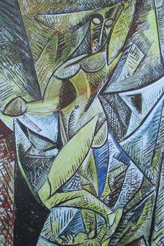 Akt mit Draperie - Der Schleiertanz PABLO PICASSO Kunstdruck Reproduktion