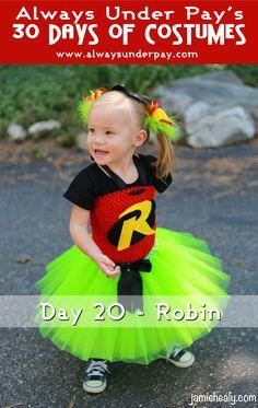 super cute robin costume giveaway!