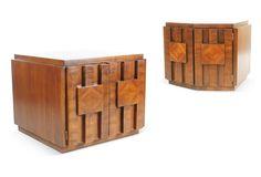 Mid-Century  Modern Tables, Pair