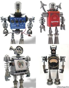 Junkbots: 8 Artists Creating Lovable Bots From Trash | Gadgets ...