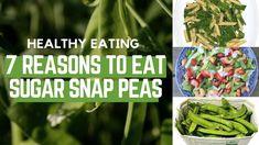 7 Reasons to Eat Sugar Snap Peas - Healthy Eating series Healthy Cooking, Healthy Eating, Raw Food Recipes, Healthy Recipes, Fruits And Veggies, Vegetables, Sugar Snap Peas, Cook At Home, Easy Food To Make