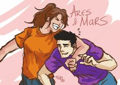 Ares and Mars this is perfect!