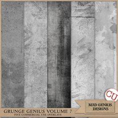 Grunge Genius Volume Seven by Mad Genius Designs