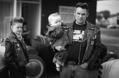 Rockabilly father  Cant wait till can start my own lil greaser family