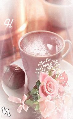Good Morning Gif Images, Morning Coffee Images, Good Morning Coffee Gif, Good Morning Gift, Good Morning Flowers, Good Morning Greetings, Coffee Latte Art, Coffee Love, Good Morning My Sweetheart