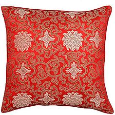 @Overstock - Embellish your home decor with a traditional Far East cushion cover   Exotic decorative pillow cover features embroidered Oriental lotus flower designThrow pillow cover boasts luxurious and silky polyester compositionhttp://www.overstock.com/Home-Garden/Handmade-Chinese-Lotus-Flowers-Red-Cushion-Cover/3430728/product.html?CID=214117 $13.79