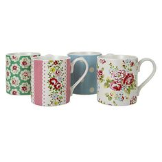 Cath Kidston mugs, perfect for offering your new guests a cup of tea.  http://www.pricerunner.co.uk/cl/359/Children-s-Clothing#search=cath+kidston+tea+mugssort=4q=cath+kidston+tea+mugs