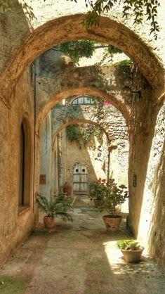 Ischia Adventure Aesthetic, Porch And Balcony, Scenery Background, Doorway, Amazing Architecture, Malta, Old World, Greece, Buildings