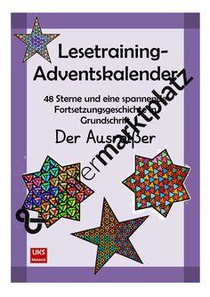 Lesetraining-Adventskalender in Grundschrift KOMPLETTPAKET