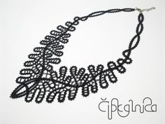 Baroque Collection  Black Lace Necklace by Cipkalnica on Etsy, €70.00