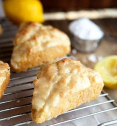 Make lemon cream scones for your mama. It& not something she& forget any time soon, that& for sure! Make lemon cream scones for your mama. Its not something shell forget any time soon, thats for sure! Lemon Desserts, Lemon Recipes, Just Desserts, Baking Recipes, Delicious Desserts, Scone Recipes, Cream Recipes, Lemon Scones, Cream Scones