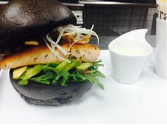 Click to view the recipe of La Gourmandise Le Black Winter Burger