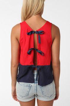 tie-back top