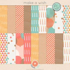 tons of stinkin adorable FREE scrapbooking papers and embellishments