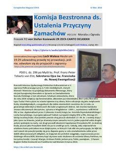 Kaczyński w kręgu podejrzanych o zamach na Andrzeja Dudę, harakiri na arkuszu A-4, podkładce dla picu do zakupu nowych limuzyn pędzących po Polsce z prędkością tupolewa http://www.dailymotion.com/video/xksewr_tupolew-kaczynskiego-w-terenie-zabudowanym-140_auto ja wiem, kim on jest i nie jest to dla mnie odkrycie. Kiedyś poparłem go na prezydenta Rzeczypospolitej. W okolicznościach, które trzeba by długo wyjaśniać i w celach, które nie były proste https://youtu.be/SNzrUAeN1UM wyznaje…