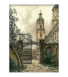RTO The Gate In The Town Counted Cross Stitch Kit
