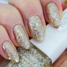 .@Bella Ritchey   @IsaDora Gold Digger from their most recent collection Holographic Na...   Webstagram