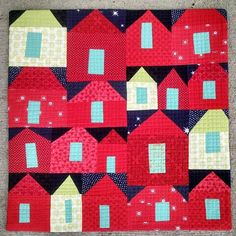 """For Mollie"" 14"" x 14"" #curatedquilts"