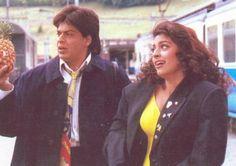 Shah Rukh Khan and Juhi Chawla - Yes Boss (1997)