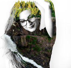 Meninices da Vida: Projeto Fotográfico: Into The Wild dupla exposição | double exposure | fotografia | photography | photoshop