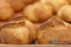 Pão de mandioquinha, by Rogério Shimura. http://www.bemsimples.com/br/receitas/91328-pao-de-mandioquinha