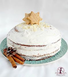 Winter Christmas, Xmas, Vanilla Cake, Food And Drink, Sweets, Sugar, Kitchen, Yule, Sweet Pastries