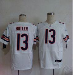 NFL Chicago Bears 13 Butler White Elite Jerseys