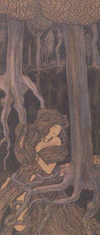 Jan Toorop - Shakuntala (c. 1892)