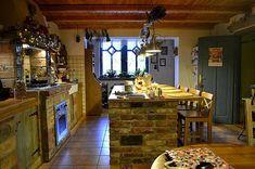 Bea vidéki stílusú konyhája