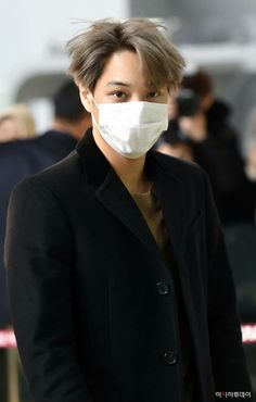 EXO | Kim Jong In ❤ kai | 161129 | Airport | [NEWSPIC] | Facebook