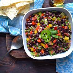 Black bean dip - gf, vgn
