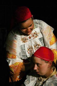 Cífer village, Považie region, Western Slovakia. Folk Clothing, Folk Costume, Folk Art, Culture, Traditional, Embroidery, Bridal, Ethnic, Collections
