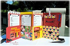 Ideas for Scrapbookers: Pocket Organizer    This will be a great project for me! Love!