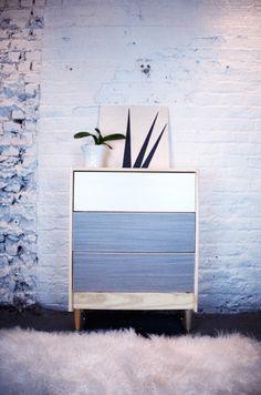 IKEA Rast PANYL white driftwood