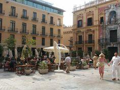Larios street, Málaga, Spain