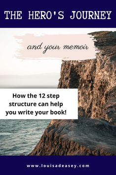Learn how the 12 step structure of the hero's journey can help you write your memoir! #writing #herosjourney #3actstructure #storytelling #storystructure #write #writing community
