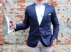 DAPPERED: In Review - The Unconstructed J. Crew Factory Linen Sportcoat