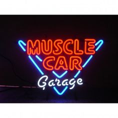 Neonetics Wall Lighting Muscle Car Garage Neon Sign - 5MSCLE