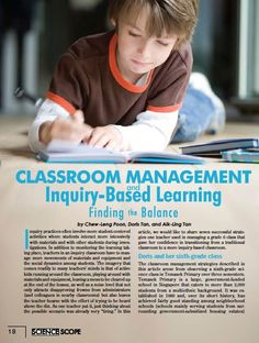Classroom Management and Inquiry-Based Learning: Finding the Balance